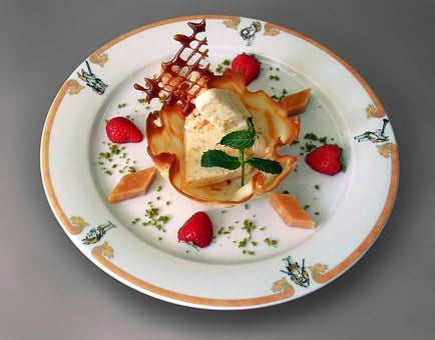 Dessert, Caramel, Gourmet, Caramel Parfait