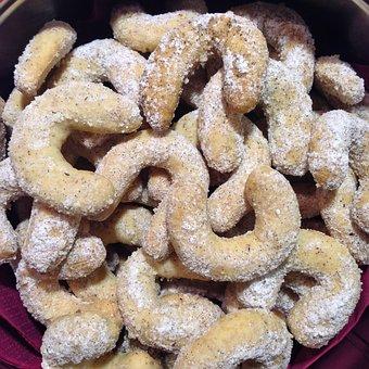 Vanillekipferl, Pastries, Christmas, Christmas Cookies