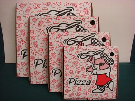Boxes, Corrugated, Pizza Boxes, Pizza, Pizza-boxes