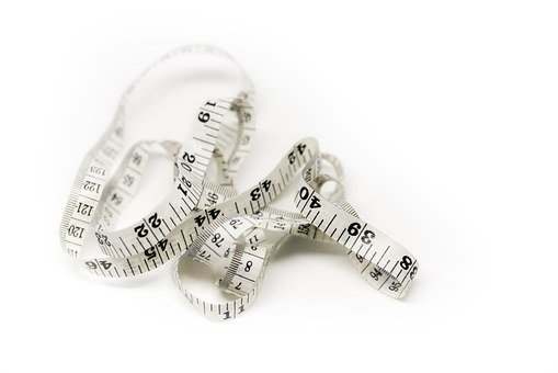 Measuring Tape, Inches, Sewing, Tape Measure, Diet