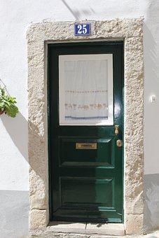 Door, Entrance, Home, Exterior, Enter, Open, Doorway