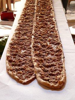 Pizza, Turkish Pizza, Turkey, Flat Bread, Eat, Food