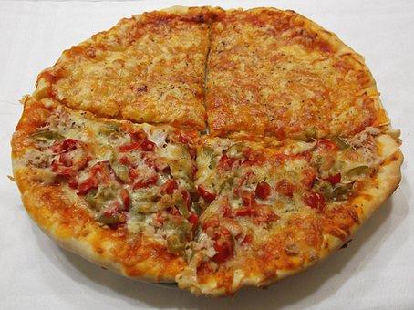 Pizza, Fast Food, Telepizza, Italian Food