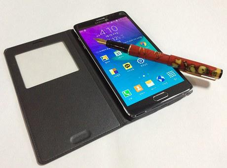 Smartphones, Note 4, Galaxy, Clearing Notes
