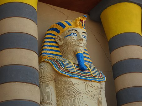 Pharaonic, Egypt, Ruler, Lego, Lego Blocks