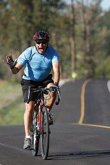 Cyclist, Rider, Biking, Sport, Bike, Bicycle, Man