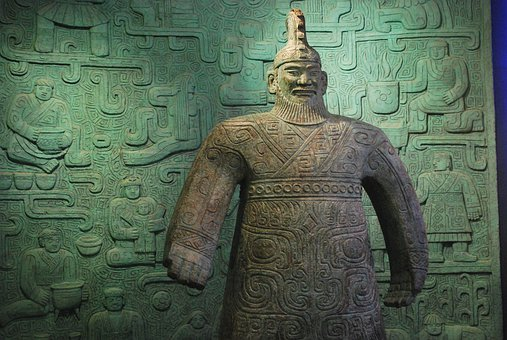 Statue, Artwork, Sculpture, Warlord, Military, Chinese