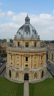 Oxford, Historic, City, England, Radcliffe Camera