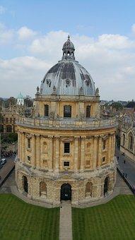 Oxford, Historic, City, England, Radcliffe Camera