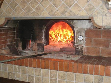 Pizza, Oven, Cooking, Restaurant, Traditional, Fire