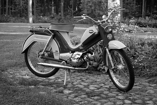 Moped, Fell, Old, The Classics, Retro, Solifer