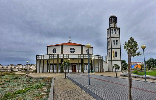 Church, Round, Characterful, Construction, Architecture