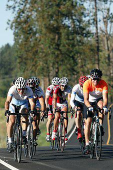 Cyclists, Riders, Sport, Biking, Cycle, Action