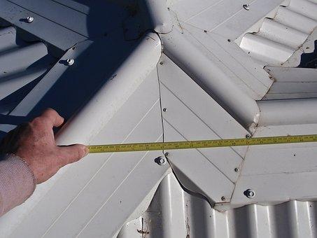 Measure, Tape, Ruler, Size, Roof, Pattern, Steel