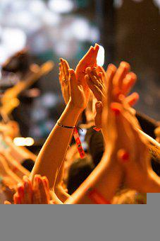 Hands, Clapping, Applause, Audience, Concert, Crowd