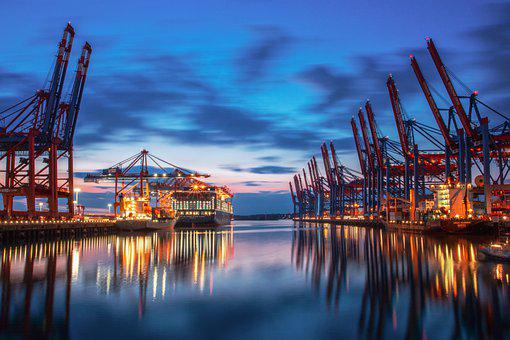 Port, Container, Cargo, Export, Logistics, Trade