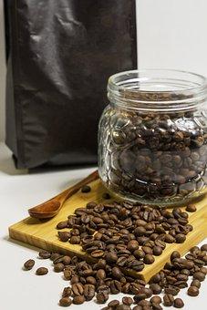 Coffee, Grains, Caffeine, Roasted, Aroma, Drink