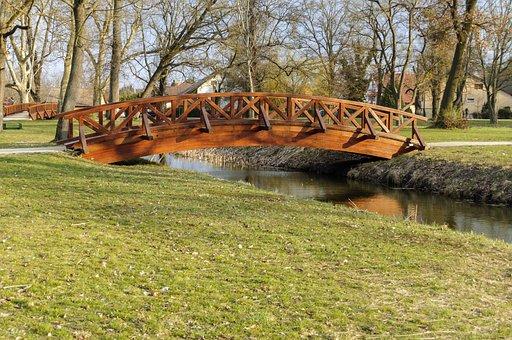 Water, Lake, Bridge, Places Of Interest, Tourism