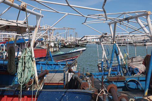 Boats, Port, Sea, Ocean, Bay, Water, Fishing Boats