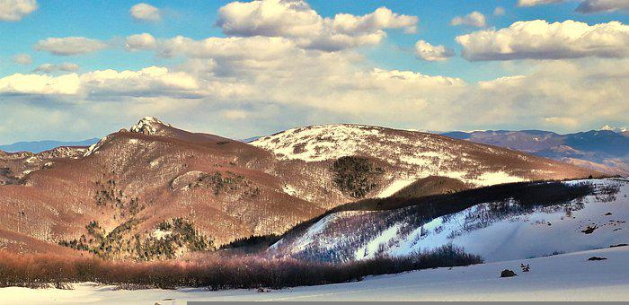 Mountains, Peak, Snow, Summit, Trekking, Scenic