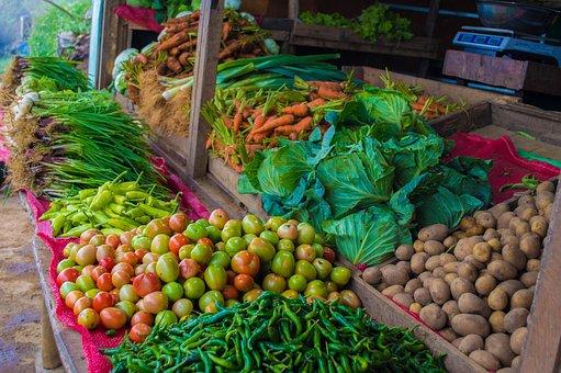 Vegetable Shop, Vegetable, Vegetables, Fresh, Healthy