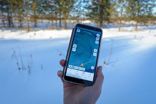 Smartphone, Orientation, Map, Travel, Walking