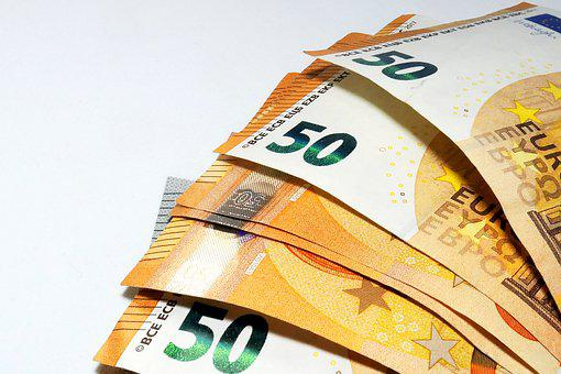 Euro, Money, Bills, Cash, Banknote, Euro Banknotes