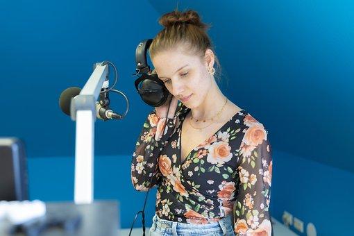 Headphones, Podcast, Listen