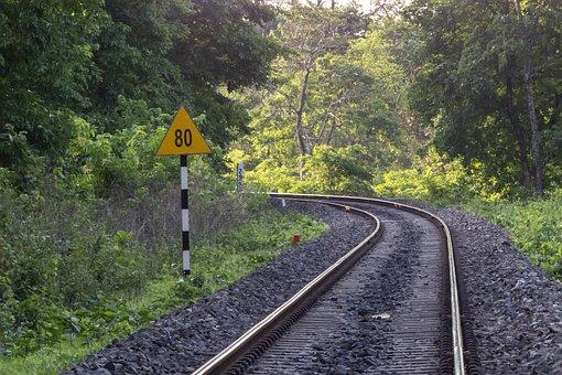 Rails, Railway Track, Train, Railroad, Railway