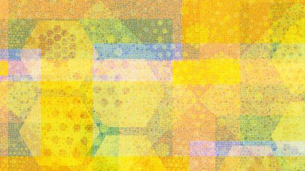 Mosaic, Hexagon, Festive, Scrapbook, Autumn, Holiday