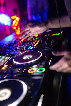 Dj, Turntable, Mixer, Hands, Party, Audio, Sound, Music