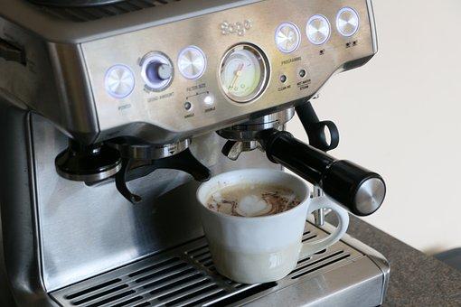 Coffee Machine, Coffee, Cup, Caffeine, Drink, Beverage