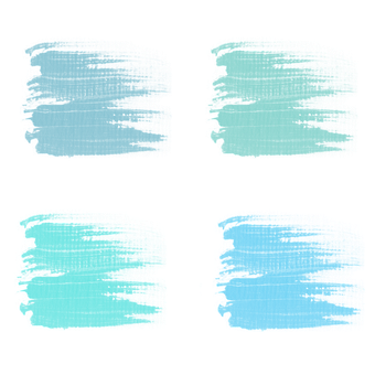 Brush Strokes, Blue, Paint, Abstract, Scrapbooking