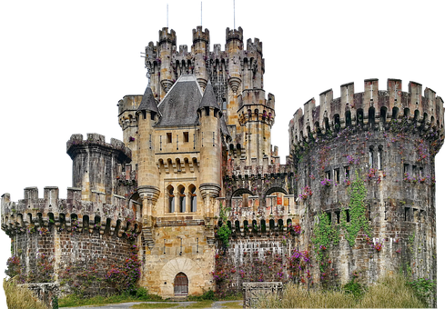Castle, Towers, Pinnacle, Architecture, Facade
