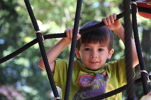 Child, Boy, Playground, Kid, Young, Childhood, Cute