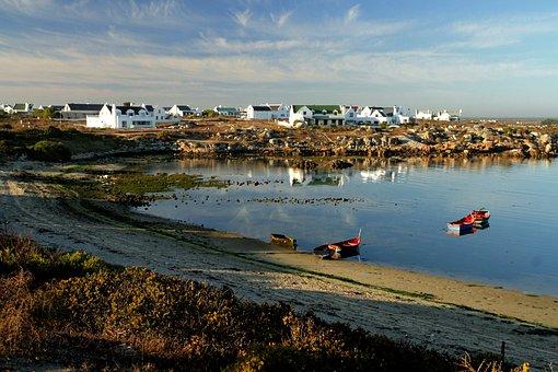 Village, Sea, Coast, Water, Travel, Landscape, Houses