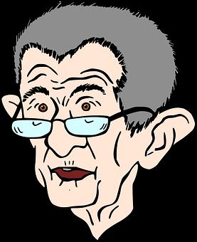 One, Wrinkles, Glasses, Old, The Prime Minister