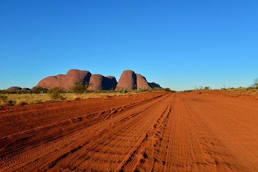 Australia, Outback, Olgas, Red Center, Landscape