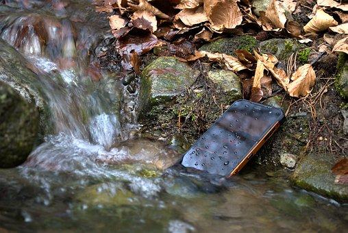 Smartphone, Mobile, Phone, Water, Android, Waterproof