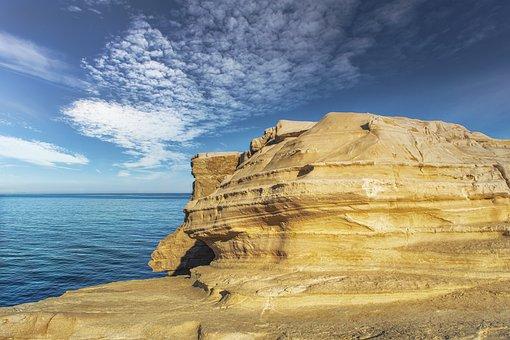 Cliff, Coast, Sea, Rock, Rock Formation, Natural, Ocean