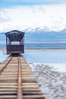 Train, Railway, Lake, Chaka, Rail, Tracks, Tourism