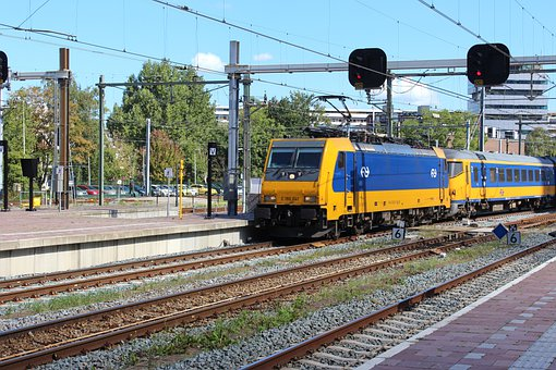 Train, Train Station, Tracks, Station, Railway, Central