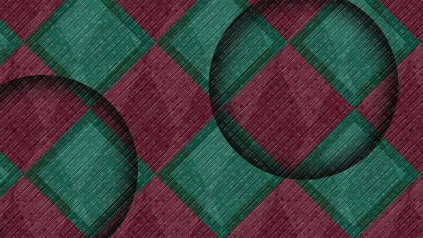 Background, Abstract, Checkered, Pattern, Geomteric