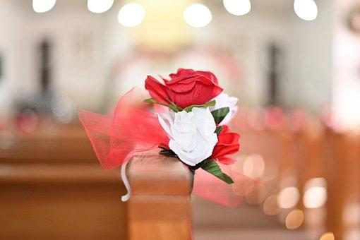 Wedding, Roses, Bouquet, Celebration, Marriage