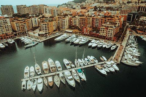 Boats, Yachts, Boat Yard, Pier, Wharf, Port, Buildings