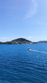 Chorwacja, Morze, Zachód Słońca, Summer, Travel