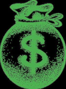 Money Bag, Dollar, Money, Currency, Cash, Loan, Finance