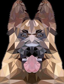 Low Poly, Poly, Animal, Polygon, Icon, Figure