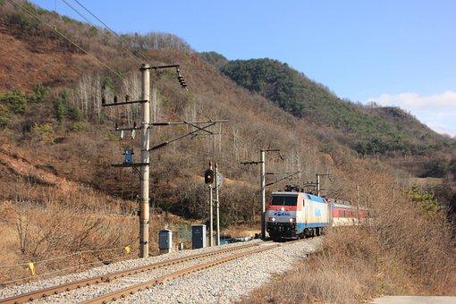 Train, Railway, Mountain, Rail Tracks, Railroad, Travel