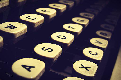 Typewriter, Type, Writer, Old, Antique, Letters